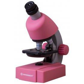 Микроскоп Bresser Junior 40x-640x, розовый модель 70537 от Bresser
