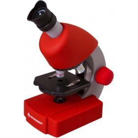 Микроскоп Bresser Junior 40x-640x, красный модель 70122 от Bresser