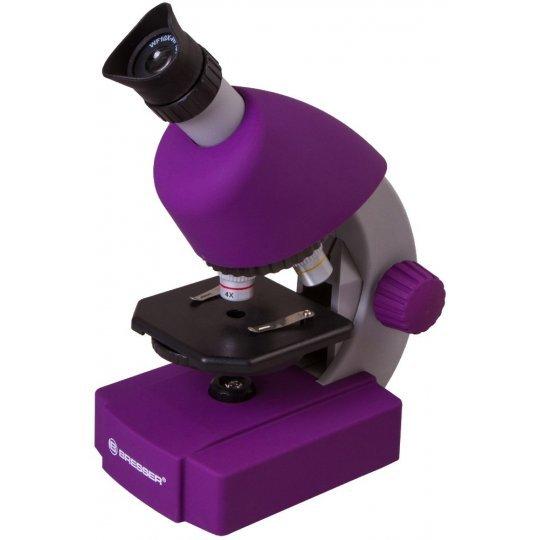 Микроскоп Bresser Junior 40x-640x, фиолетовый модель 70121 от Bresser