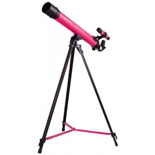 Телескоп Bresser Junior Space Explorer 45/600 AZ, розовый модель 70133 от Bresser