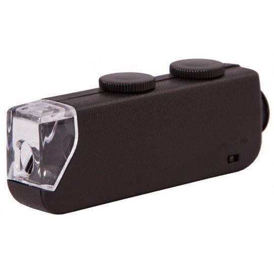 Микроскоп карманный Bresser 60x-100x со светодиодной подсветкой модель 30872 от Bresser