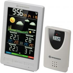 Метеостанция Bresser ClimaTemp WS с цветным дисплеем, белая модель 77563 от Bresser
