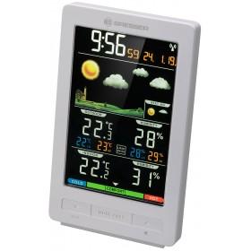 Метеостанция Bresser ClimaTemp WS с цветным дисплеем, белая
