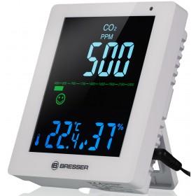 Гигрометр Bresser Air Quality Smile с датчиком CO2, белый модель 78438 от Bresser
