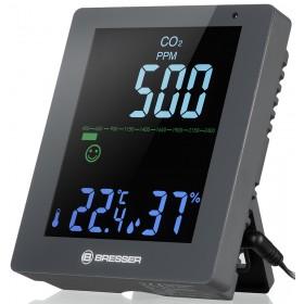 Гигрометр Bresser Air Quality Smile с датчиком CO2, серый модель 78439 от Bresser