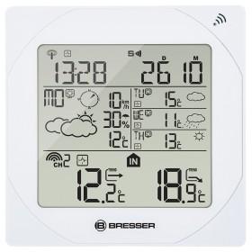 Метеостанция Bresser 4CAST MSW, белая