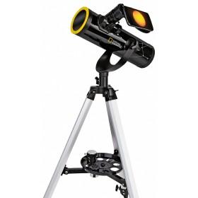 Телескоп Bresser National Geographic 76/350 AZ с солнечным фильтром