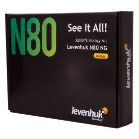 Набор микропрепаратов Levenhuk N80 NG Увидеть все! модель 29280 от Levenhuk