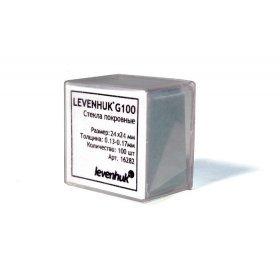 Стекла покровные Levenhuk G100, 100 шт модель 16282 от Levenhuk