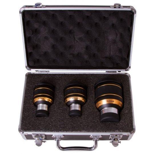 Набор окуляров Sky-Watcher UWA 82° (7 мм, 15 мм, 23 мм) модель 70497 от Sky-Watcher