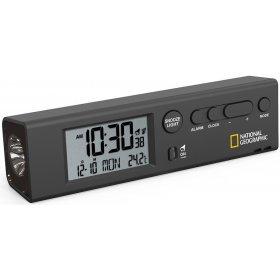 Часы Bresser National Geographic World Time с термометром и фонариком модель 74619 от Bresser