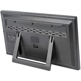 Метеостанция (настенные часы) Bresser MyTime Jumbo LCD, черная