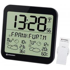 Часы настенные Bresser MyTime Meteotime LCD, черные модель 74648 от Bresser