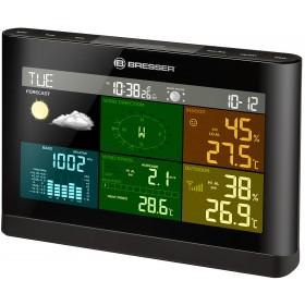 Метеостанция Bresser Comfort «5 в 1» с цветным дисплеем, черная