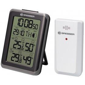 Гигрометр с часами Bresser MyClimate, черный модель 75690 от Bresser