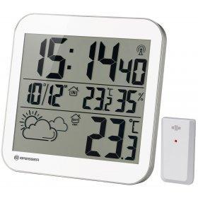 Часы настенные Bresser MyTime LCD, белые модель 75696 от Bresser