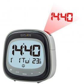 Часы цифровые Explore Scientific с проектором, черные модель 75901 от Explore Scientific