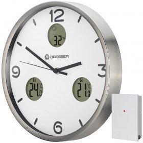 Часы настенные Bresser MyTime io NX Thermo/Hygro, 30 см, белые модель 76437 от Bresser