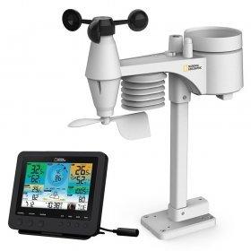 Метеостанция Bresser National Geographic «7 в 1» Wi-Fi с цветным дисплеем модель 77195 от Bresser