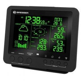 Метеостанция Bresser 5-в-1 с цветным дисплеем, черная
