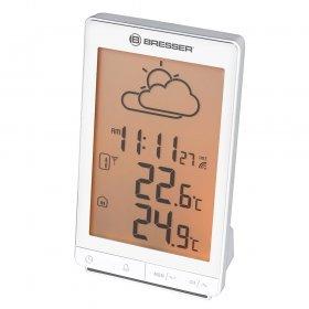 Метеостанция Bresser TemeoTrend STX с радиоуправлением, белая