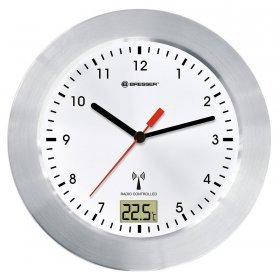 Часы настенные Bresser MyTime Bath, водонепроницаемые, белые модель 73786 от Bresser