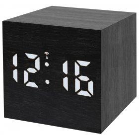 Часы настольные Bresser MyTime WAC, черные модель 73789 от Bresser