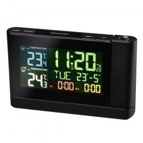 Часы проекционные Bresser с цветным дисплеем, черные модель 73277 от Bresser