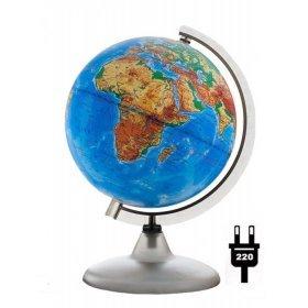 Глобус физический с подсветкой, диаметр 200 мм модель 67765 от