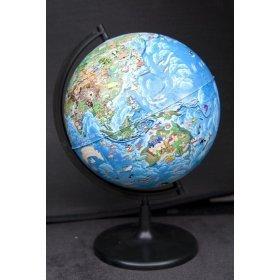 Глобус Земли для детей диаметром 210 мм модель 46243 от