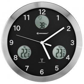 Метеостанция (настенные часы) Bresser MyTime io, 30 см, черная модель 74670 от Bresser