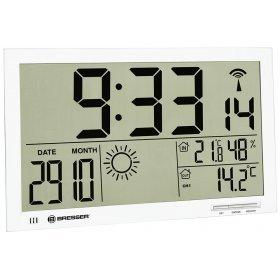 Метеостанция (настенные часы) Bresser MyTime Jumbo LCD, белая модель 74647 от Bresser