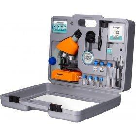 Микроскоп Bresser Junior 40–640x с набором для опытов, в кейсе модель 74326 от Bresser