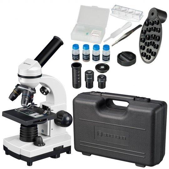 Микроскоп Bresser Junior Biolux SEL 40–1600x, белый, в кейсе модель 75314 от Bresser