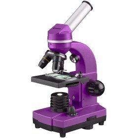 Микроскоп Bresser Junior Biolux SEL 40–1600x, фиолетовый модель 74321 от Bresser