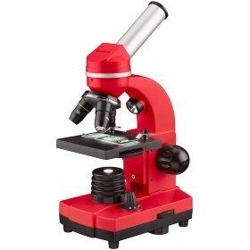 Микроскоп Bresser Junior Biolux SEL 40–1600x, красный модель 74320 от Bresser