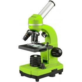 Микроскоп Bresser Junior Biolux SEL 40–1600x, зеленый модель 74319 от Bresser