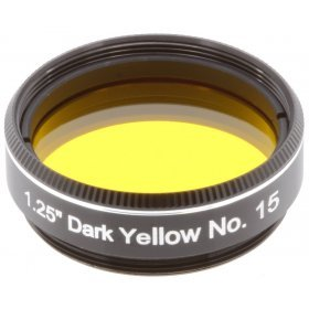 Светофильтр Explore Scientific темно-желтый №15, 1,25 модель 74790 от Bresser
