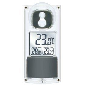 Термометр Bresser с солнечной панелью, оконный модель 74597 от Bresser